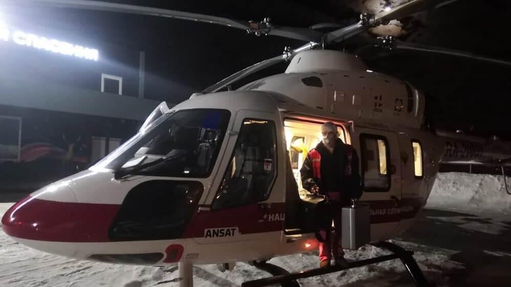 Медицина катастроф за ночь спасла трёх человек в разных районах Свердловской области