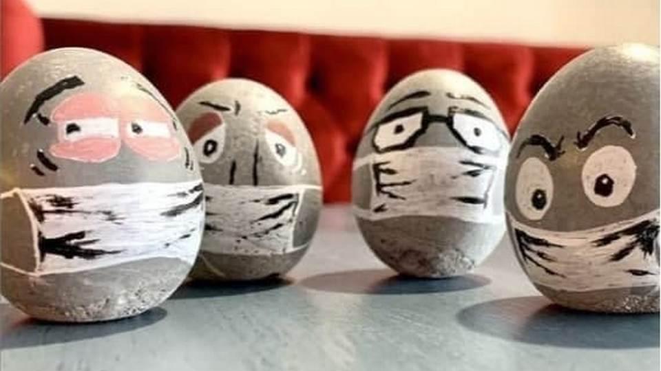 Челябинский завод выпускает яйца из бетона к Пасхе