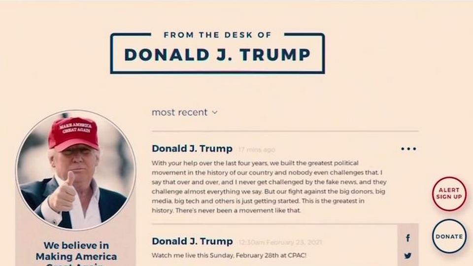 Дональд Трамп запустил свою соцсеть