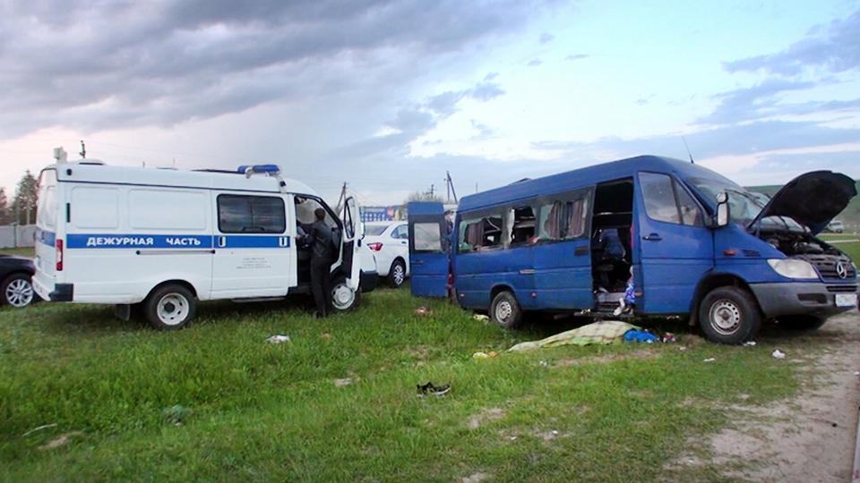Опубликован момент ДТП в Ставрополье, в котором погибло пять юных спортсменок
