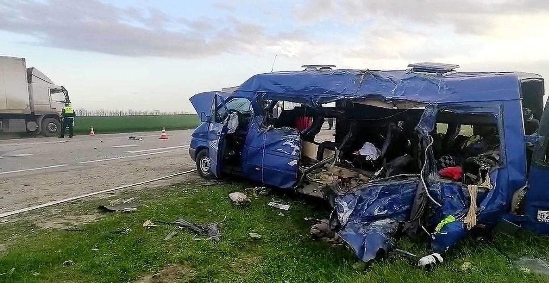 Пятро детей погибли в ДТП в Ставропольском крае, они ехали на соревнования