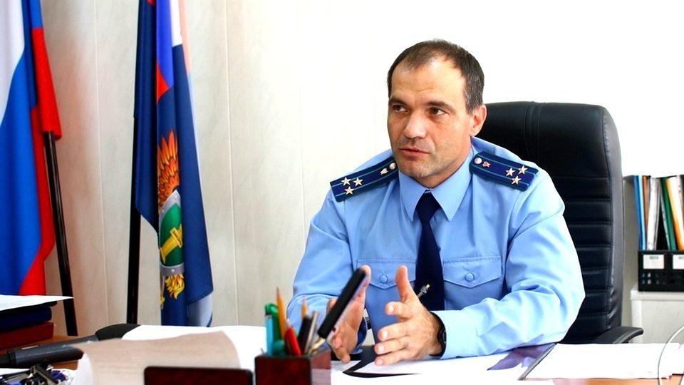 Прокурор Каменска-Уральского Владимир Васильев