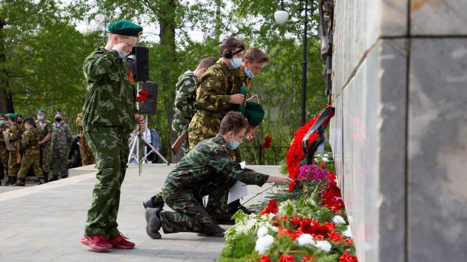 Синарские трубники отдали почтили память павших в Великой Отечественной войне