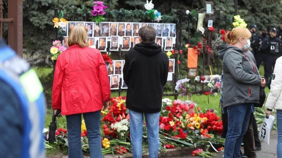 Украинцы почтили память погибших в Доме профсоюзов в Одессе