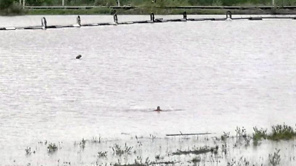 Житель Нижнего Тагила едва не погиб, купаясь в запрещенном водоеме