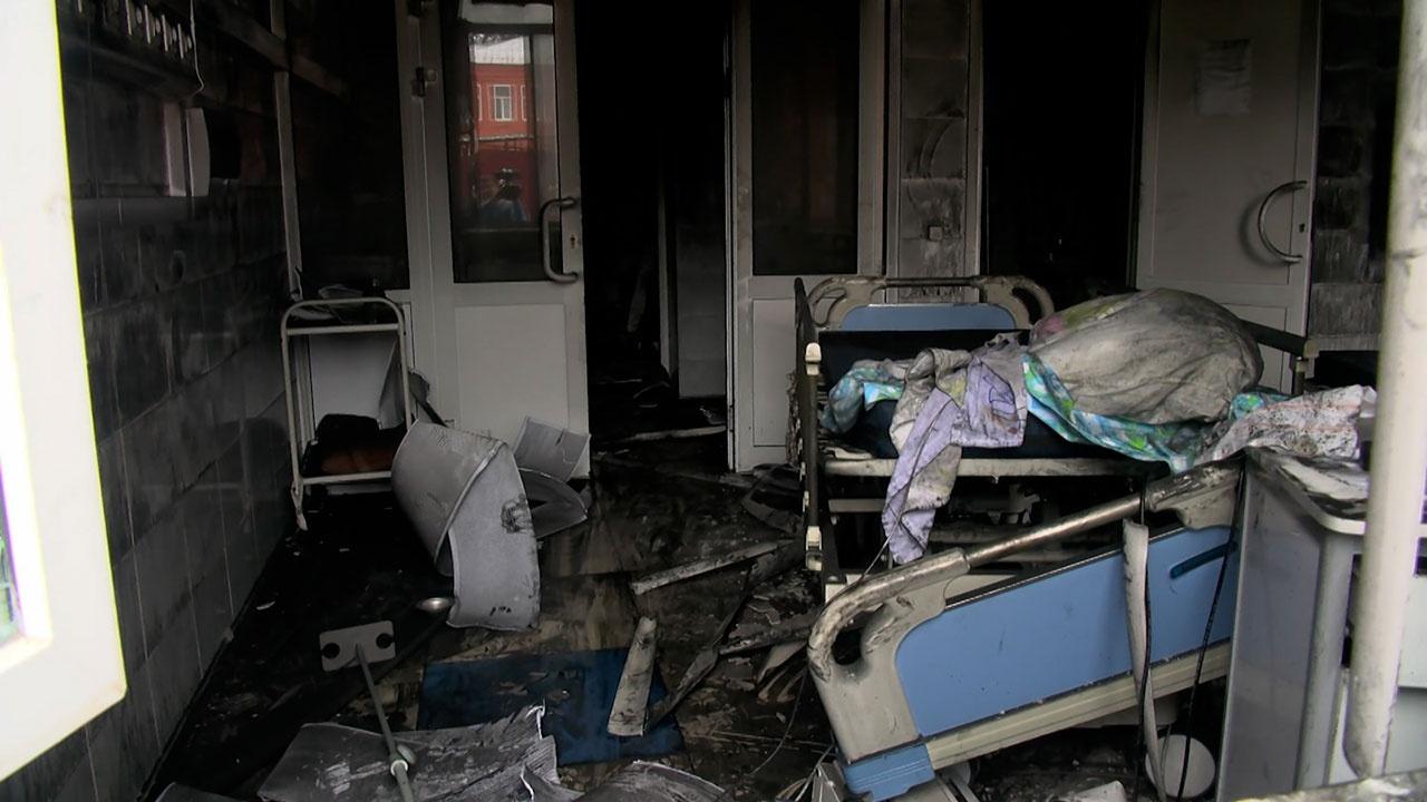 После пожара в больнице Рязани возбуждено уголовное дело о причинении смерти по неосторожности