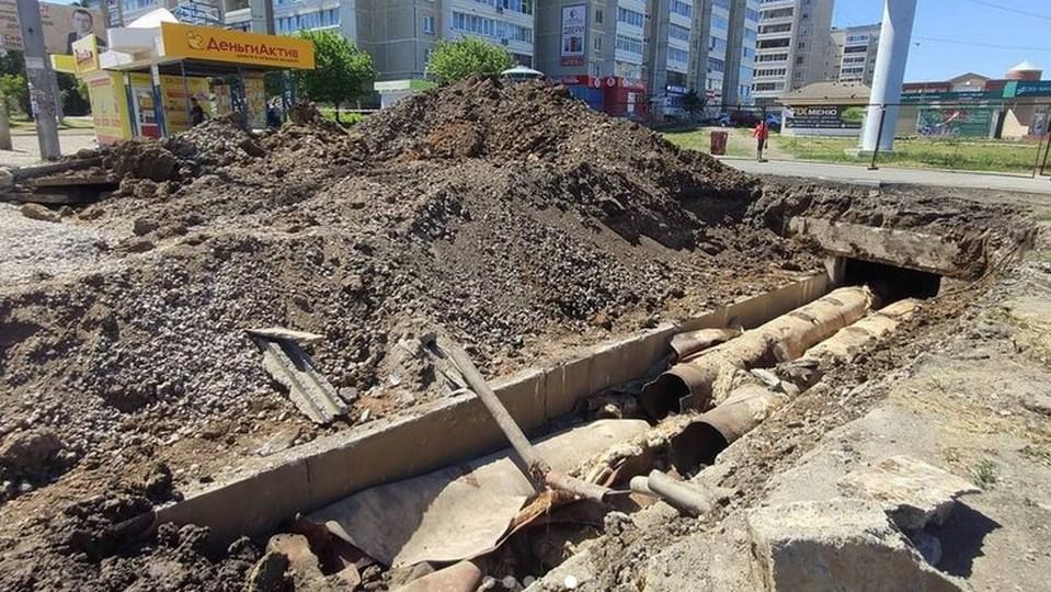 """УК """"Теплокомплекс"""" проводит модернизацию тепловой сети на улице Сибирской"""