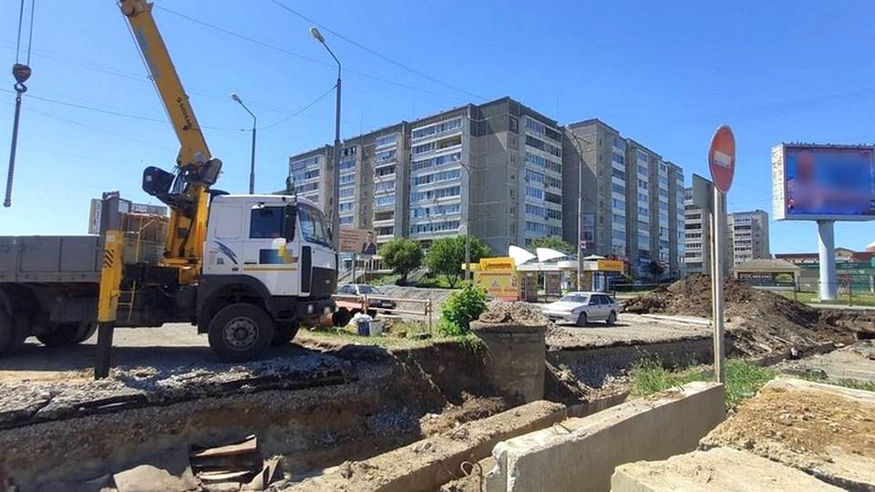 Движение автотранспорта по улице Сибирская ограничат