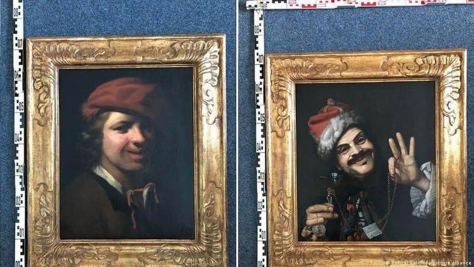 Две картины XVII века нашли на придорожной помойке в Германии