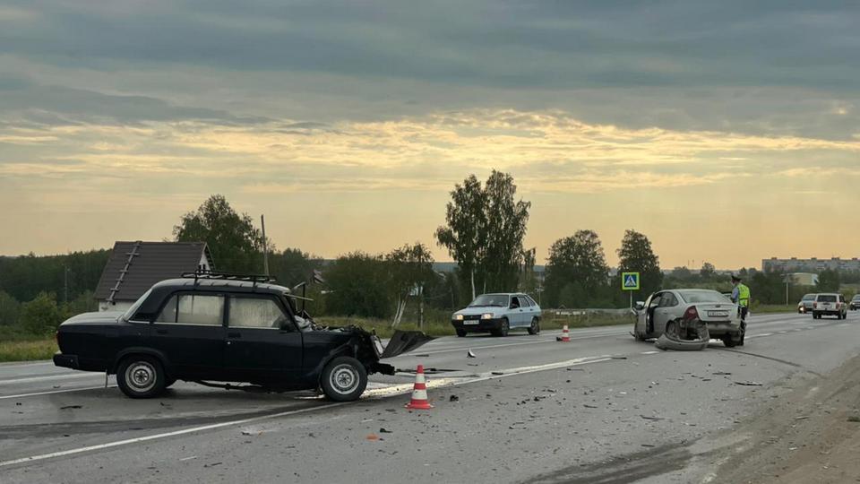 В Каменске-Уральском 80-летний мужчина получил травмы в ДТП