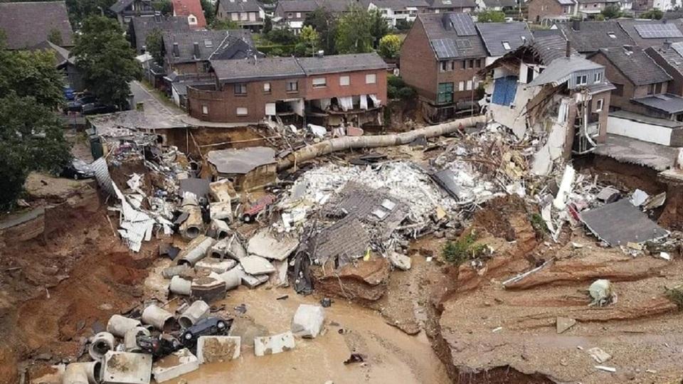 Наводнения из Германии пришли в Австрию