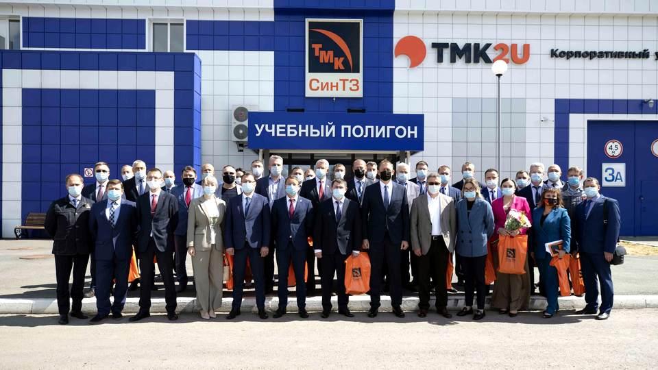 ТМК открыла на СинТЗ многофункциональный мультимедийный зал для профориентационных и образовательных проектов