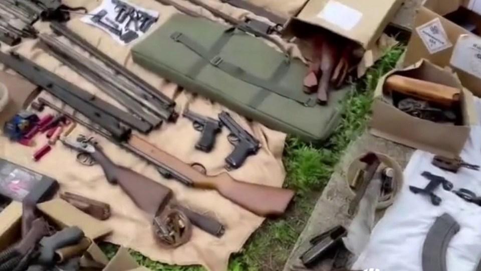 45 подпольных оружейников задержали в ходе спецоперации ФСБ