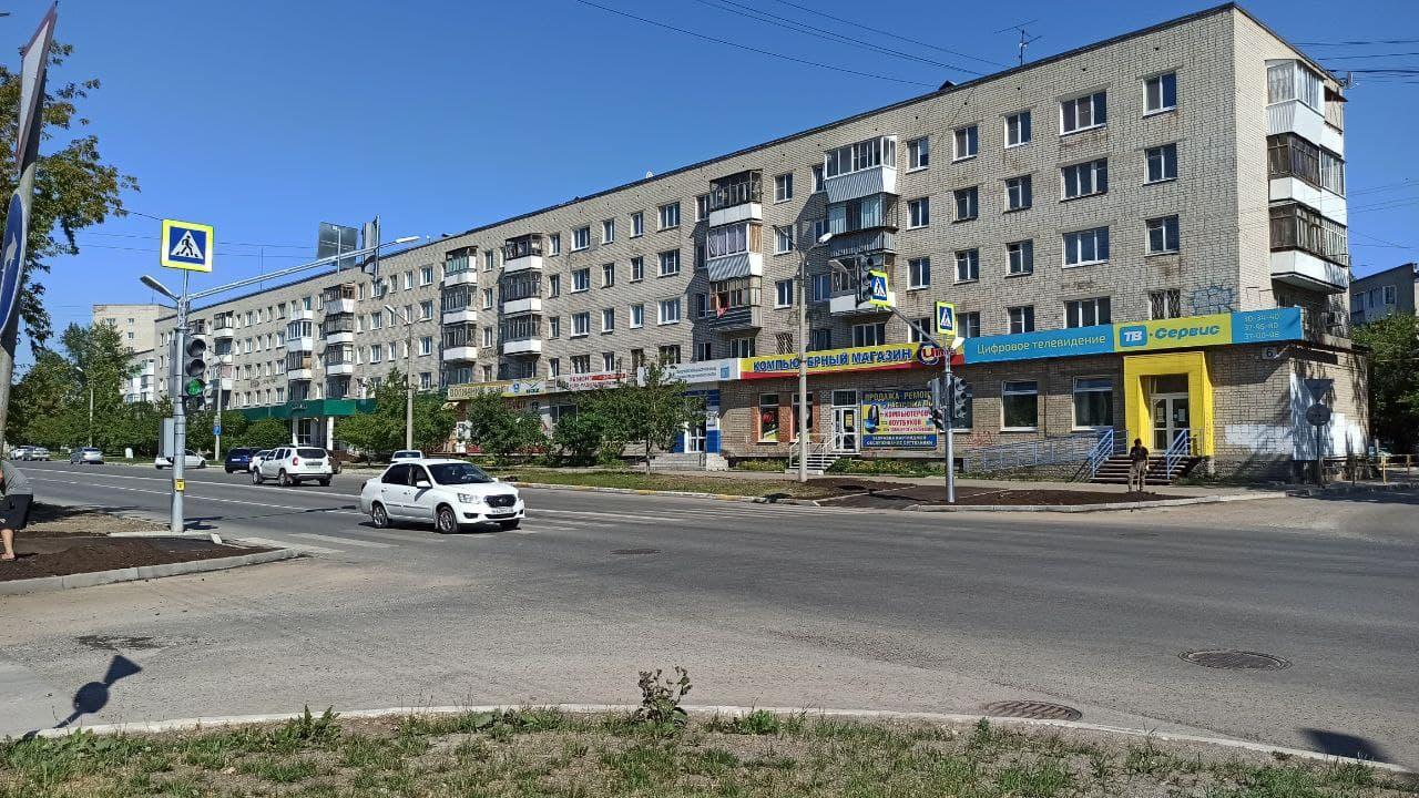 Новый светофор заработал в Каменске-Уральском