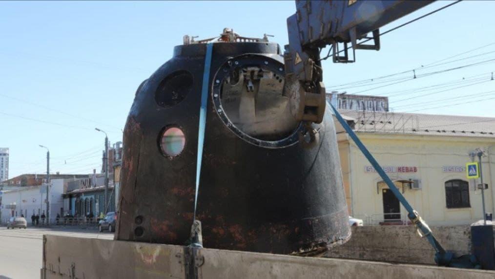 В Каменск-Уральский привезут капсулу космического корабля