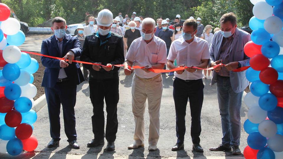 Центральный теплопункт торжественно открыли в Каменске-Уральском
