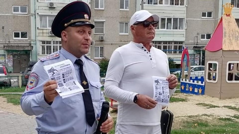 Полиция Каменска-Уральского провела профилактическое мероприятие в Тимирязевском парке