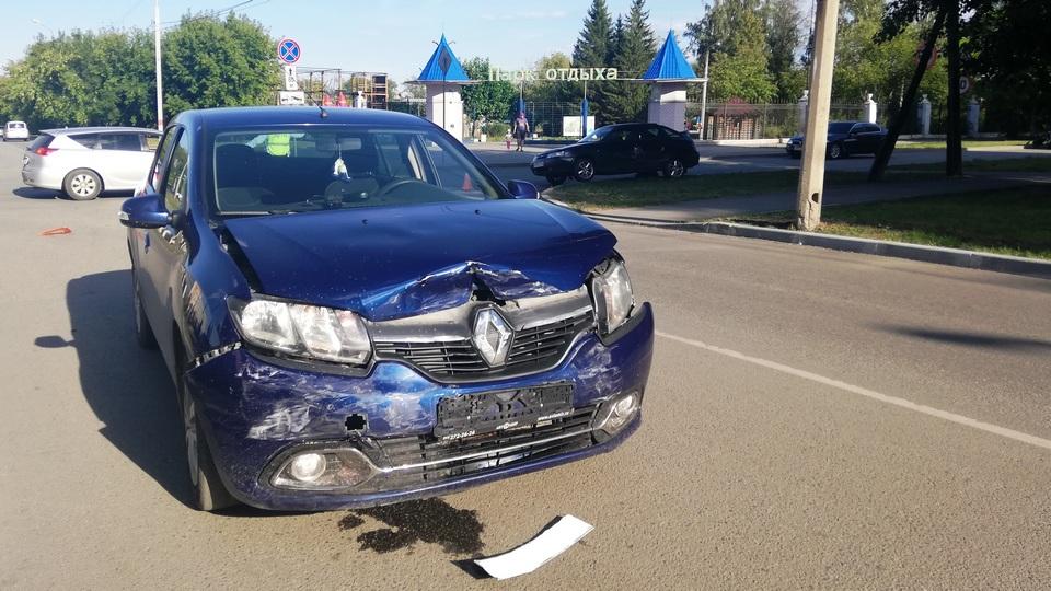 Девятилетний ребенок пострадал в ДТП в Красногорском районе