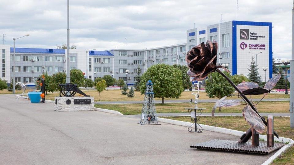 На Синарском трубном заводе подвели итоги конкурса парковых изделий