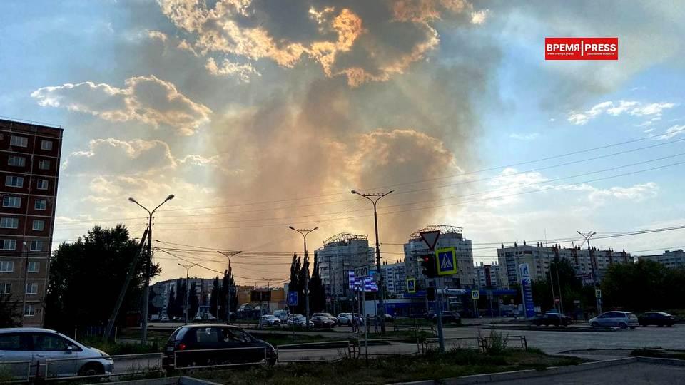 Пожар в селе Монастырка локализован