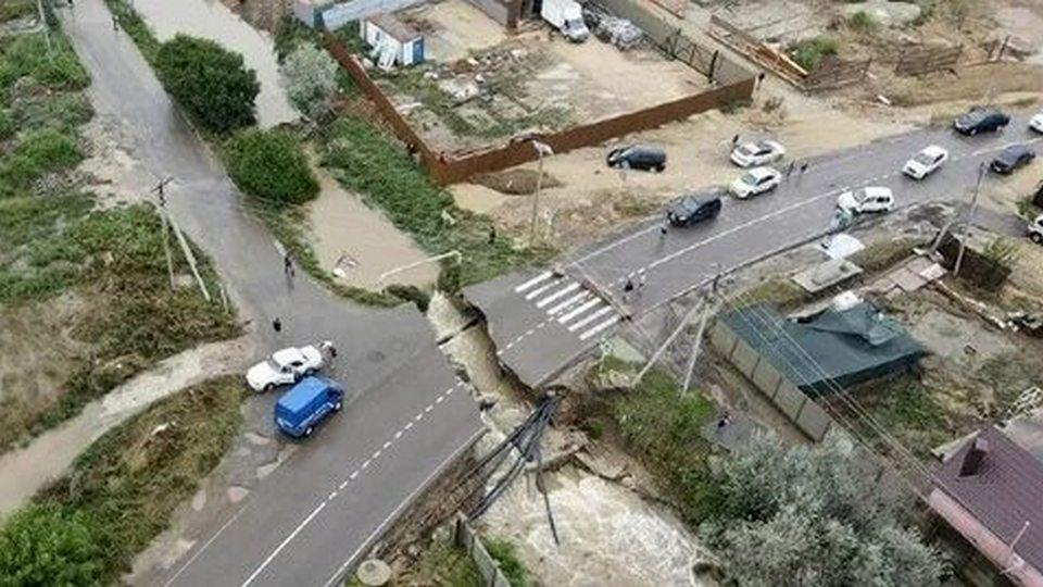 Более 20 санаториев и гостиниц пострадало в Анапе из-за ливней