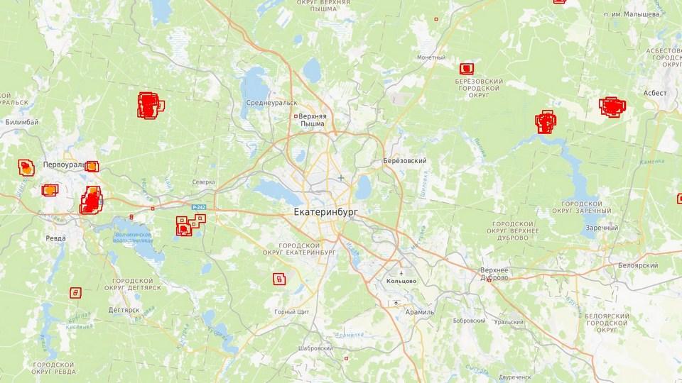 Свердловская область возглавила список регионов УрФО по количеству природных пожаров