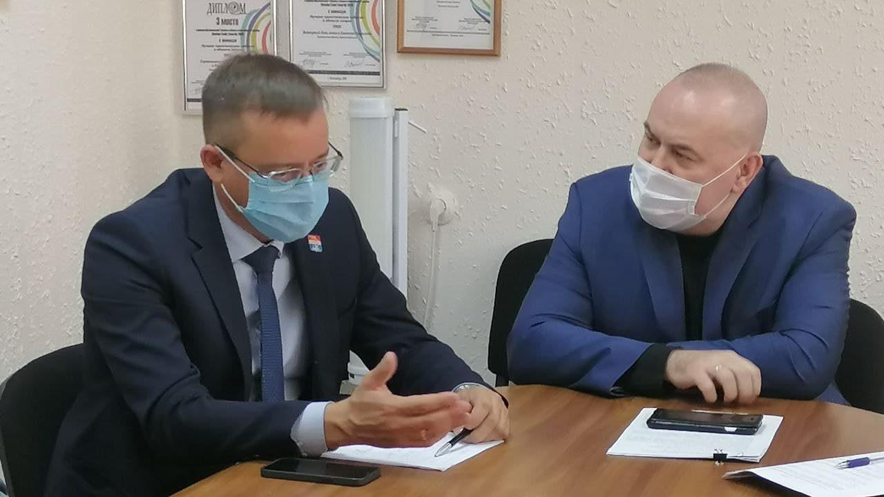 Министр здравоохранения Свердловской области посетил Каменск-Уральский