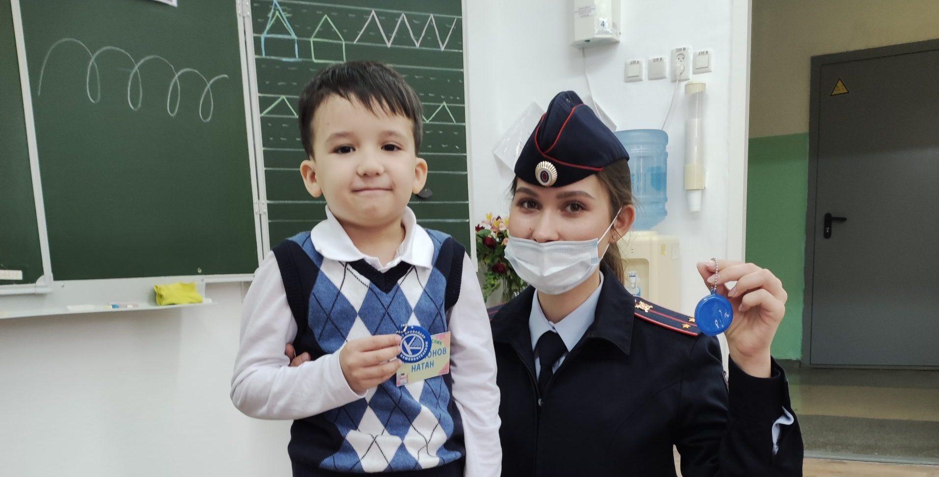 В Каменске-Уральском после каникул провели занятия по ПДД со школьниками
