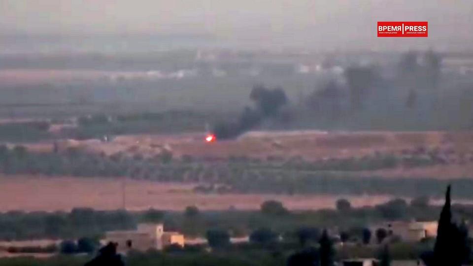 Курды взорвали мощный заряд в тоннеле под турецкой военной базой в Сирии
