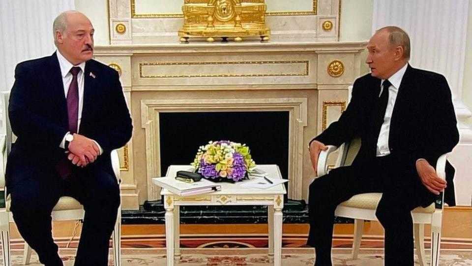 В Кремле проходит встреча Путина и Лукашенко