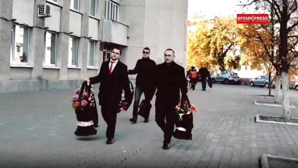 В уральском городе коммунисты отметили провал на выборах похоронным флешмобом