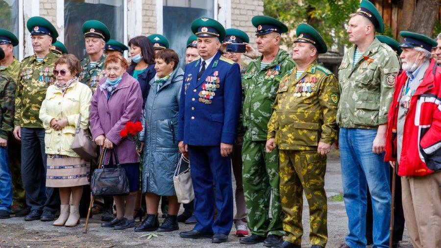 В военно-спортивном клубе Синара-Пограничник открылась экспозиция, посвященная боевой славе пограничников