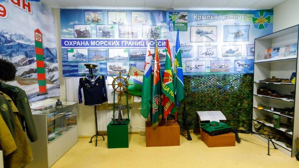"""В военно-спортивном клубе """"Синара-Пограничник"""" открылась экспозиция, посвященная боевой славе пограничников"""