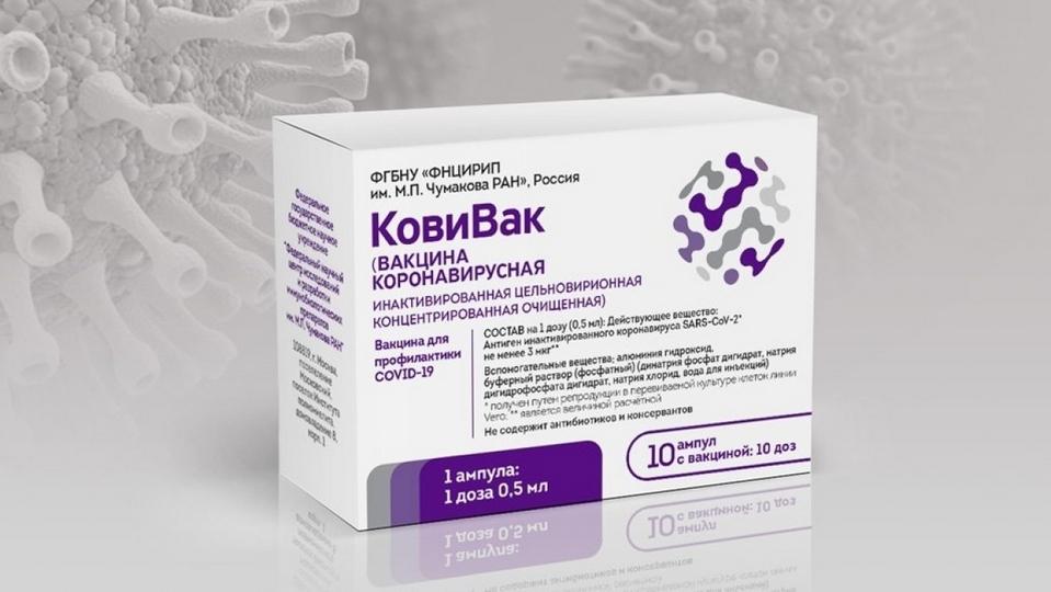 """Выпуск российской вакцины """"КовиВак"""" приостановлен"""