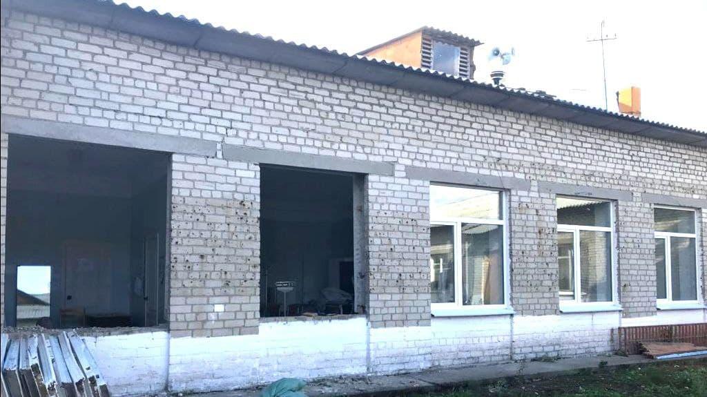 В медпункте села Монастырка заменили окна и батареи