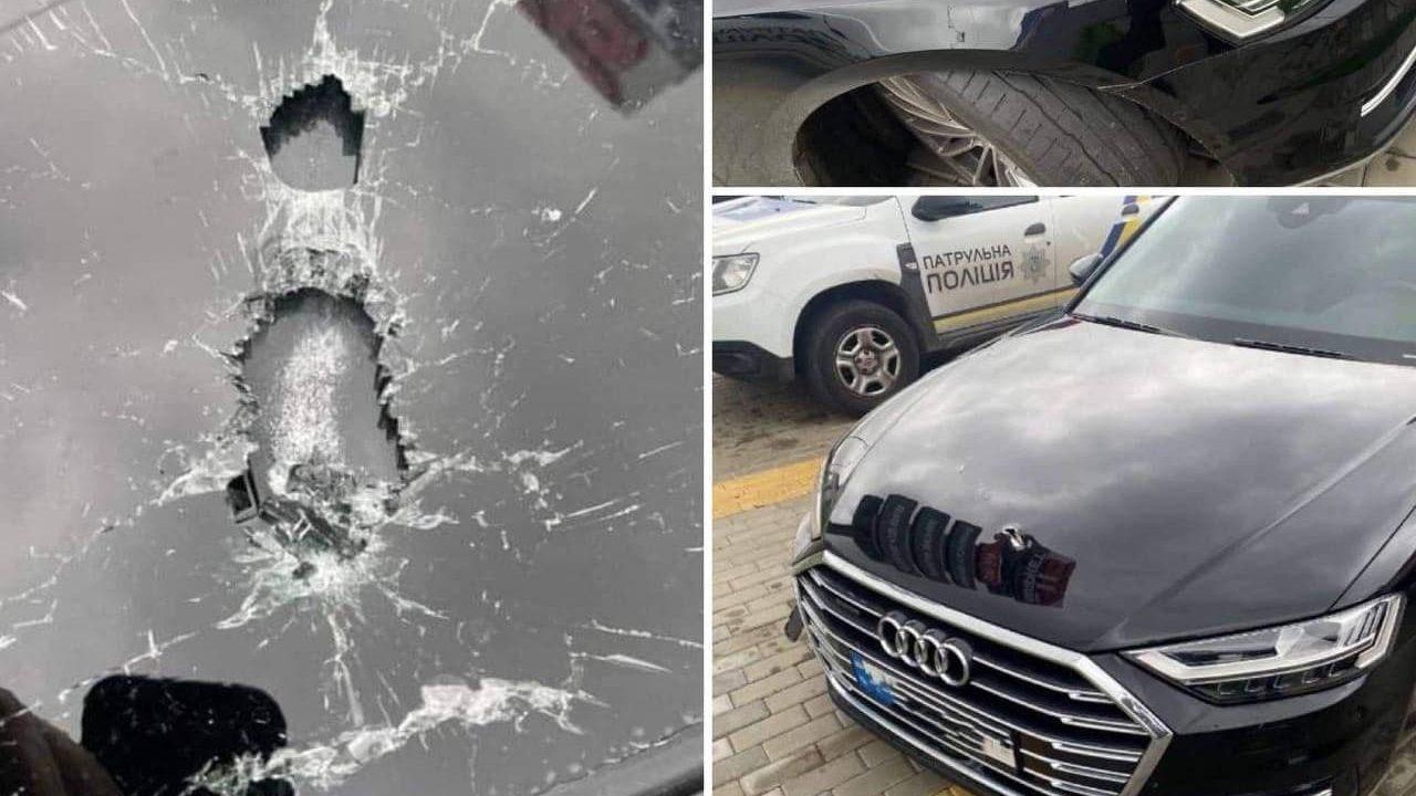 Под Киевом обстреляли автомобиль помощника Зеленского
