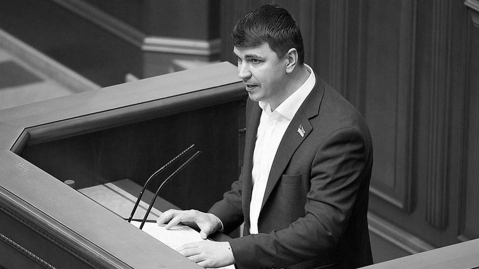 На Украине умер депутат Верховной рады Антон Поляков