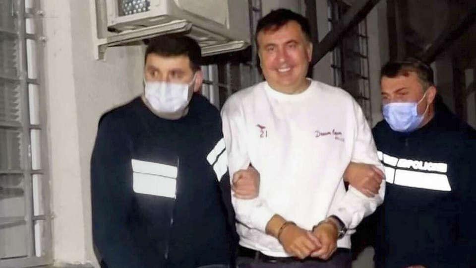 Стал известен текст письма Саакашвили из тюрьмы