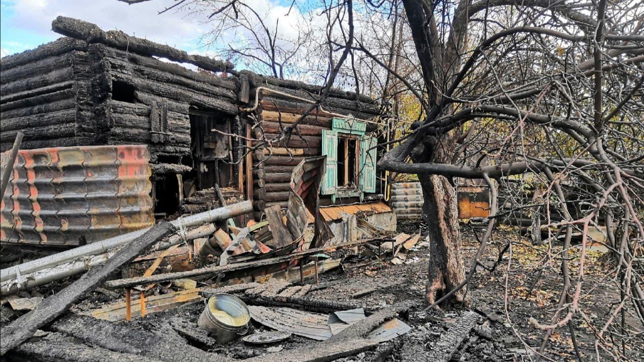 В Каменске-Уральском погорельцам требуется помощь
