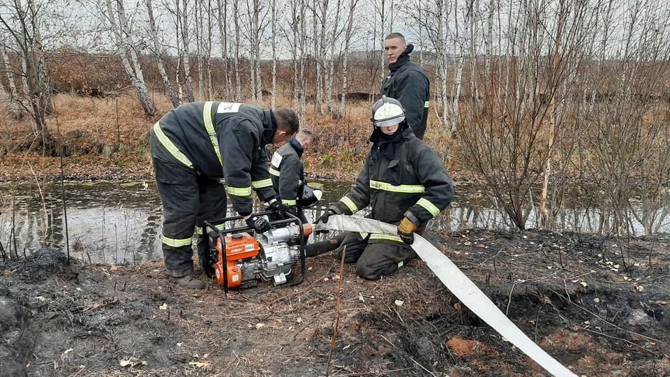 В Екатеринбурге создадут еще один искусственный водоем для тушения торфяников